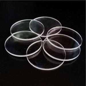 1mm Small Round Transparent Extruded Acrylic Circle Acrylic Discs Beads Plexiglass DIY Craft Materila