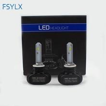 Phare anti brouillard LED, H4 880 H27 880 phare led 6500, faisceau unique 50W, 8000lm, blanc, 881 k, ampoule de voiture
