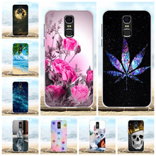 цены на For BQ S 5520 Mercury Case Ultra-slim Soft TPU Silicone For BQ-5520 Cover Flowers Patterned For BQS-5520 Mercury Bumper Coque  в интернет-магазинах