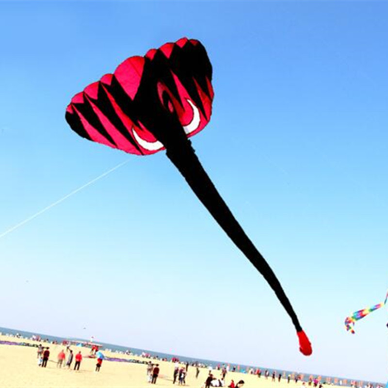 Free Shipping High Quality Large Soft Elephant Kite Handle Line Various Color Choose Weifang Kite Flying Hcxkite Butterfly Fly