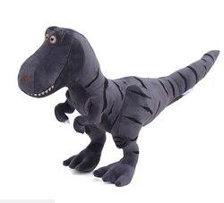 40 cm bonito dinossauro brinquedos de pelúcia hobbies dos desenhos animados tyrannosaurus macio enchido bonecas 4.5 cm dinossauro chaveiro para crianças presente