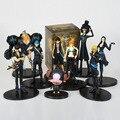 [Забавный] Аниме One piece Luffy Zoro Sanji Nami Brook пиратский корабль статуя ПВХ игрушка Коллекционная модель подарок для детей