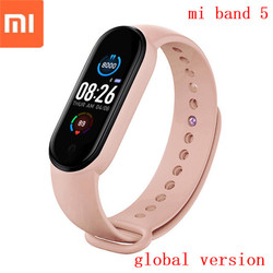 original xiaomi mi band 5 Global Version 2020 Waterproof Sport Fitness mi5 Smart Bracelet Heart Rate Monitor Smartband miband
