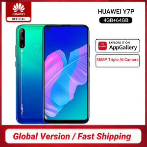 Huawei Hisilicon Kirin 710f Y7p Smartphone 4GB 64GB GSM/LTE/WCDMA Bluetooth 5.0/game Turbogpu Turbo