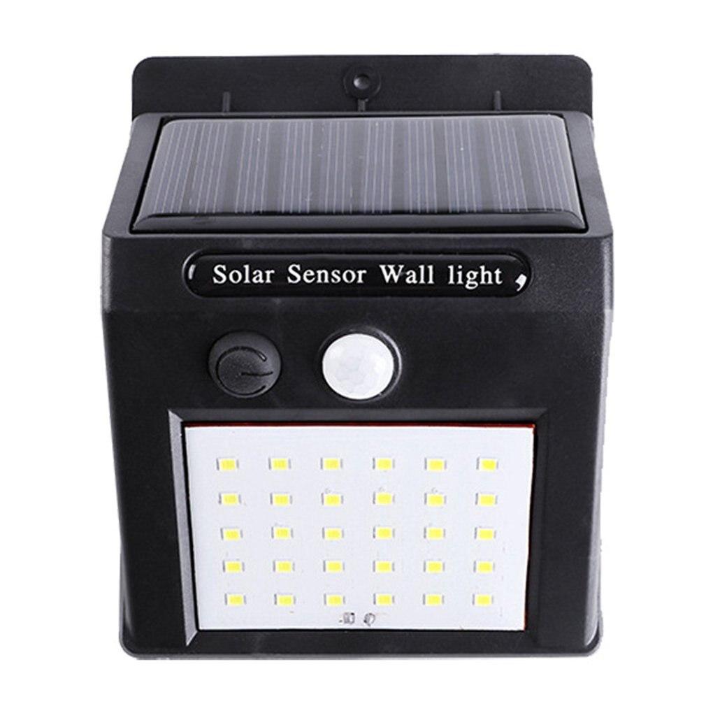 Solar Power Lamp PIR Motion Sensor Solar Garden Light Outdoor Waterproof Energy Saving Wall Security Lamp 30 LEDs