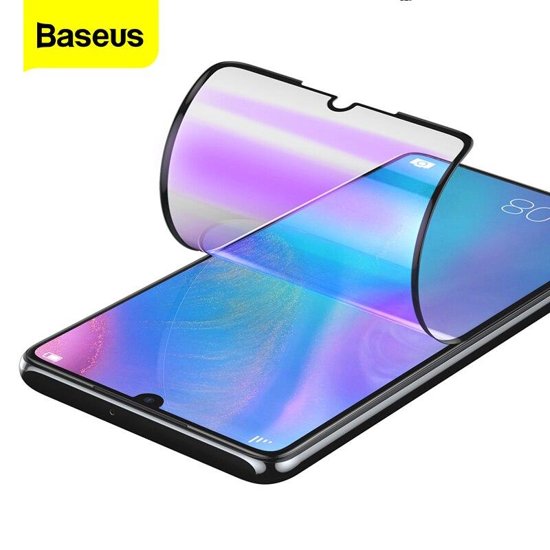 Baseus 2 pièces protecteur d'écran pour Huawei P30 P20 Hydrogel souple sans verre trempé Film de protection avant pour Huawei P30 P20 Pro