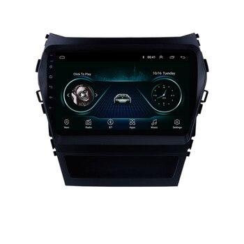 Quad core Android 8,1 para HYUNDAI IX45 SantaFe 2013, 2014, 2015, 2016, 2017 Multimedia estéreo reproductor de DVD del coche de navegación GPS Radio