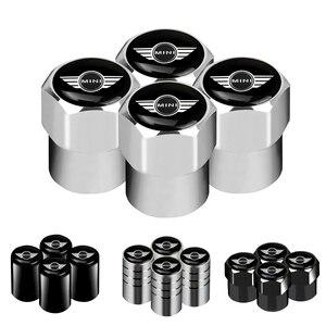 4pcs Car Wheel Tire Valves Tyre Air Caps case for BMW Mini Cooper R56 R50 R53 F56 R60 2011 2012 2013 2018 2019 car accessories