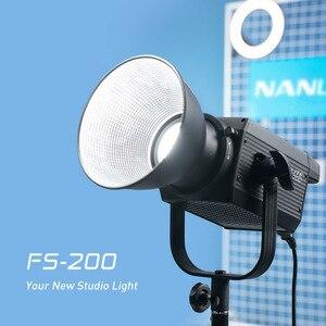 Image 2 - Nanlite FS 200 LED Strobe Light 5600K Professional Photography Outdoor Monolight Nanguang FS200 Studio Light Lamp