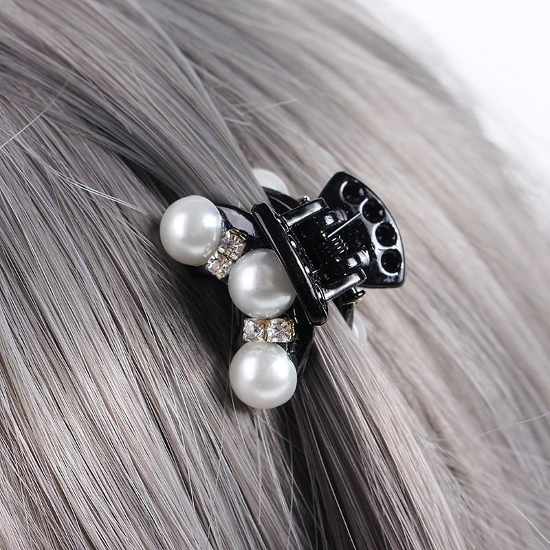 Vintage Opal Hair Pin Hair Claw Clip Barettes Jaw Clips for Short Hair Small Barrettes Hair Accessories Vintage Hair Clips for Women