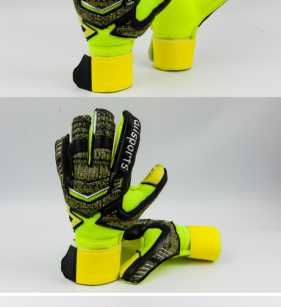 Professional Goalkeeper Gloves With Finger Protection 14