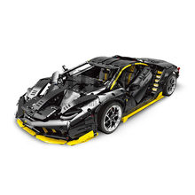 MOC Technology Simulation Racing Car 1:8 Model Building Bricks Blocks Supercar Set Toy 3823 PCS Compatible with 42115 Assembles