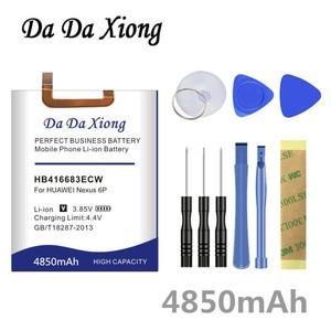 Image 1 - דה דה Xiong 4850mAh HB416683ECW סוללה עבור Huawei Google Ascend נקסוס 6P H1511 H1512