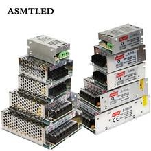 Трансформаторы для освещения 110 В 220 В в 5 в пост. Тока 12 В 24 В 48 В 1A 2A 3A 4A 5A 10A 20A 30A 40A 50A 60A адаптер питания для светодиодной ленты видеонаблюдения