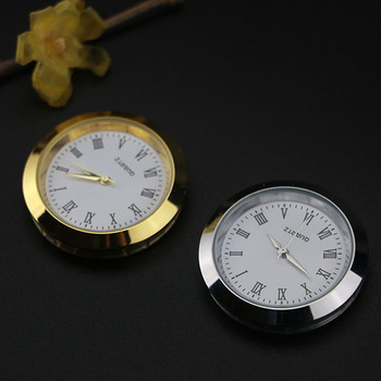 Car quartz clock car styling car interior watch pointer stick on the dashboard for Porsche Jeep Dodge Chery image