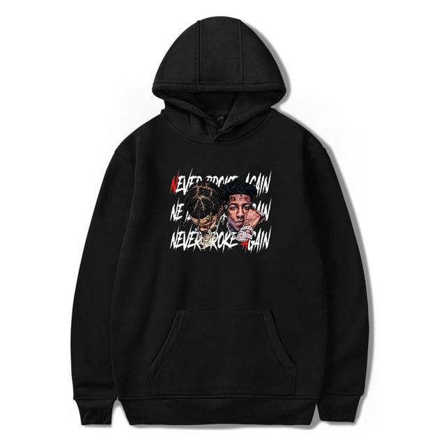 YOUNGBOY NEVER BROKE AGAIN THEMED HOODIE