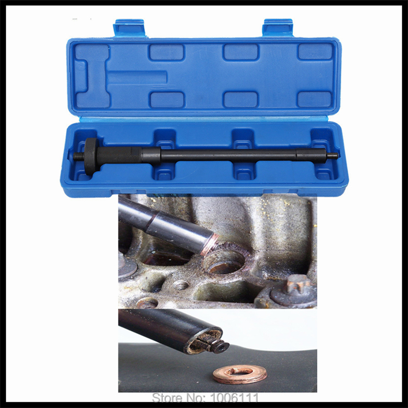 Diesel Common Rail Injector Nozzle Copper Washer Gasket Pad Dismouting Remove Install Tool Sets