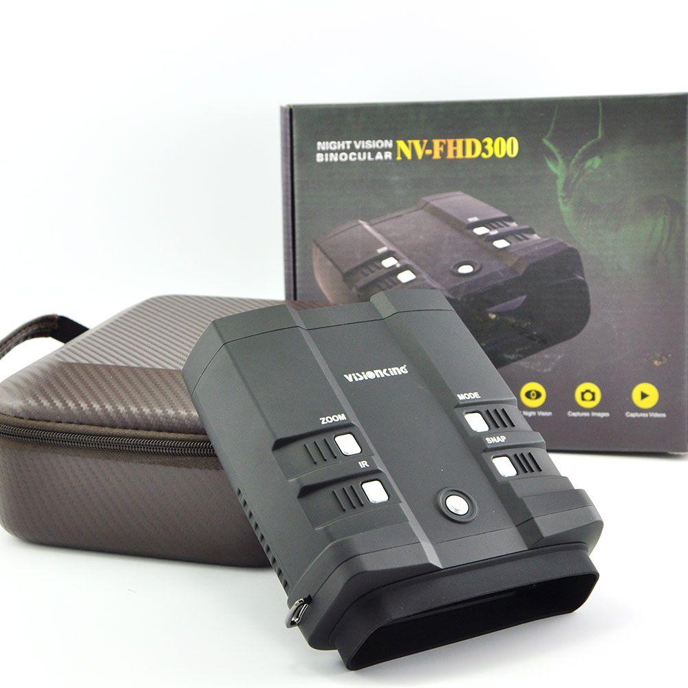 Visionking NV-FHD300 Specification 3X Digital IR Hot Digita Night Vision Binocular LED Video/Photograph High Quality 1920X1080