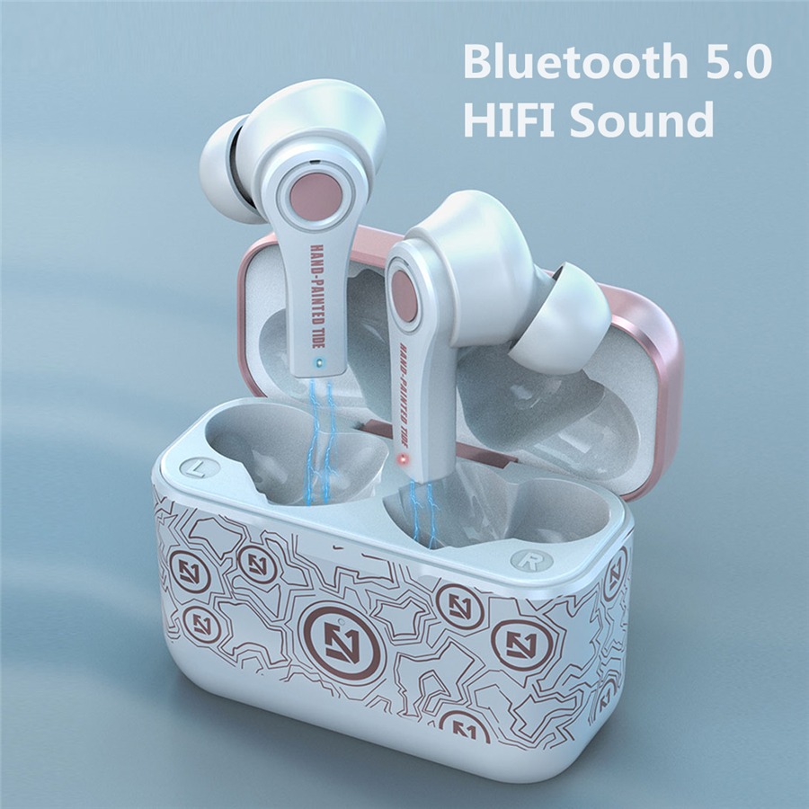 BYKRSEN TWS Wireless Bluetooth 5 0 Earphone With Mic Charging Box Gaming Handsets Stereo Sport Earbuds For Android PK i12 i90000