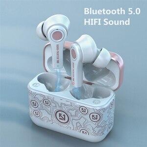 BYKRSEN TWS Беспроводные Bluetooth 5,0 наушники с микрофоном для зарядки, игровые наушники, стерео спортивные наушники для Android PK i12 i90000