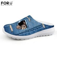 Flat FORUDESIGNS Shoes Slipper