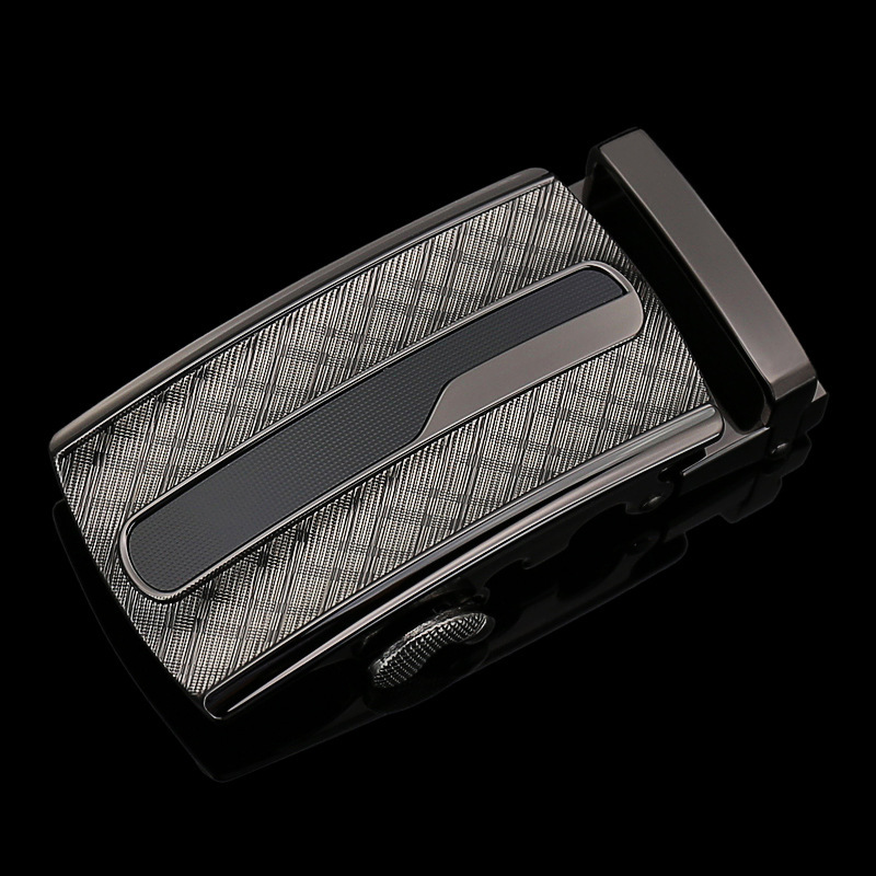 Genuine Men's Belt Head, Belt Buckle,Leisure Belt Head Business Accessories Automatic Buckle Width 3.5CM Luxury Belts LY125-1286