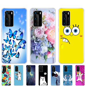 For Huawei P40 Case Soft Silic