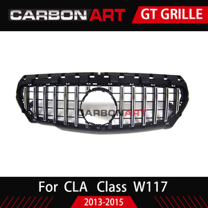 Image 5 - 11.11 CLA W117 GT style Grille for MB Front Grill for CLA Class W117 C117 CLA200 220 CLA260 300 2013 2015 FOR benz front grille