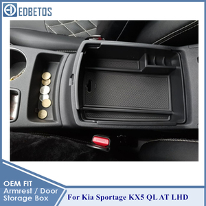 Image 5 - Armrest Storage Box For Kia Sportage KX5 QL AT LHD 2016   2020 Center Console Organzier Stowing Tidying Storage Holder Tray