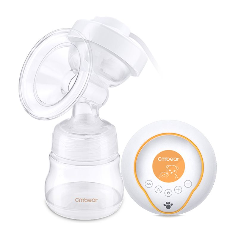 Electric Breast Pump With Milk Bottles Feeding Milk Extractor Breast Massager