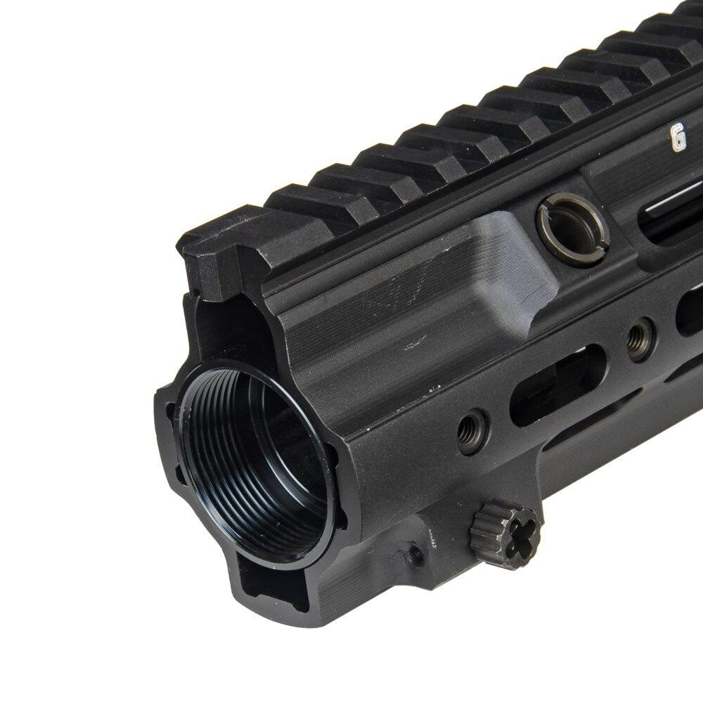 Style G de garde-corps de Rail de SMR de Blaster de boule de Gel 10.5 pouces pour Hk416 support libre mince de bâti d'airsoft Picatinny de flotteur convenable M4 M16 AEG - 5