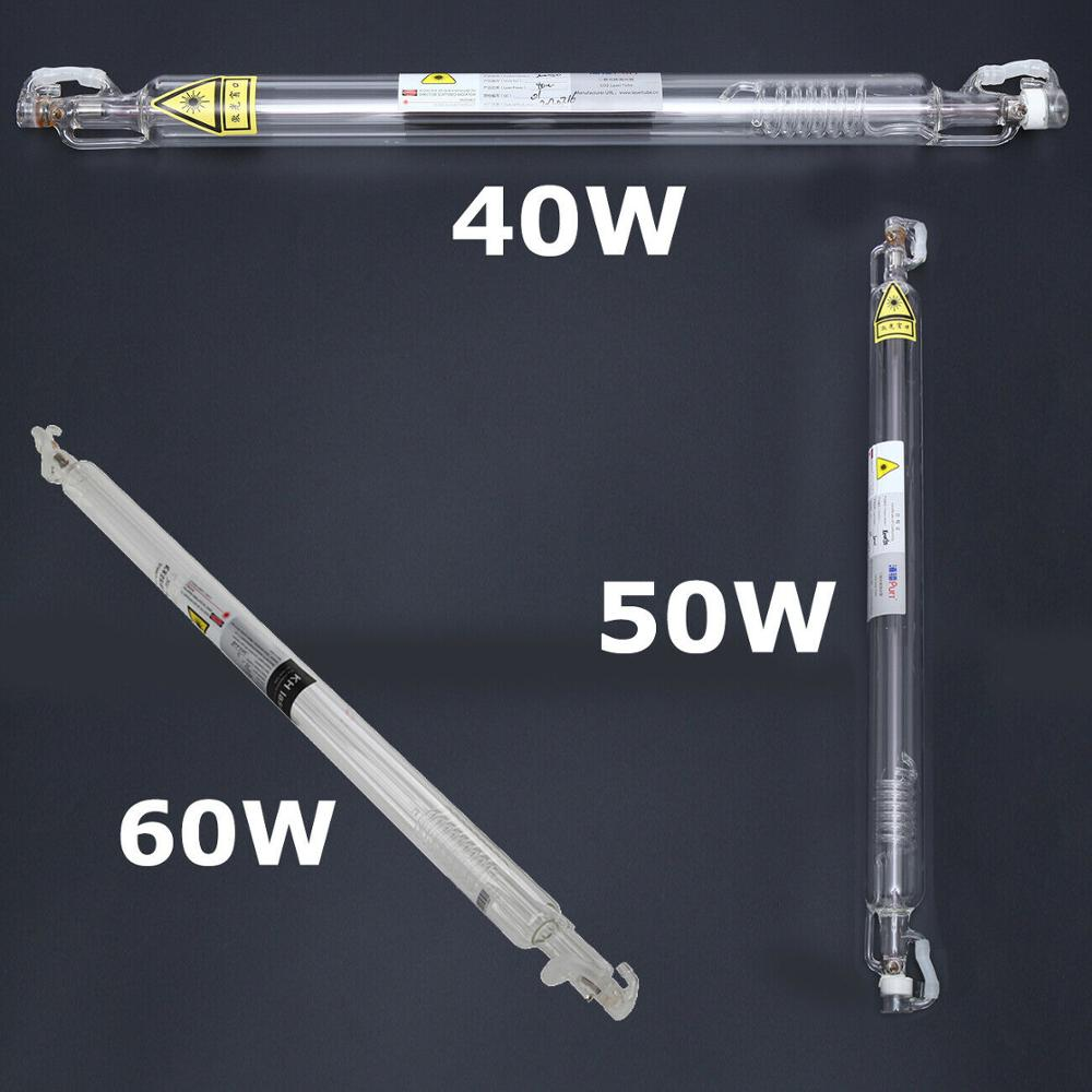 Tubo de laser selado para água, envio rápido da ue 40w/50w/60w profissional cortador a laser gravador máquina
