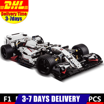 2020 IN Stock MOULD KING MOC 13117 Technic City F1 Racing Car The 24 Hours Race Car Model Building Blocks Bricks 42096 Toy