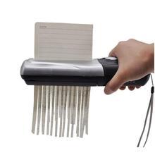 1 шт./упак. портативная мини USB-и-батарея-питание A6 и A4 машина для измельчения бумаги и документов и счета-фактуры