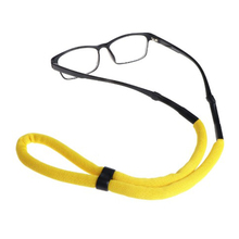Fashion Floating Foam Chain Sport Glasses Cord Eyewear Strap Lanyard Adjustable Swimming Goggles Neck Strap Elastic Black Blue