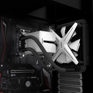 Image 3 - ALSEYE XTREME enfriador de líquidos serie AIO X120, iluminación RGB ajustable para LGA 775/115x/1366/2011/AM2/AM3/AM4