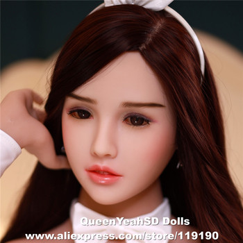New Oral Sex Doll Head For Chinese Love Dolls Sexy Doll Silicone Heads With Oral Sex Sex Products fro dolls 140-175cm