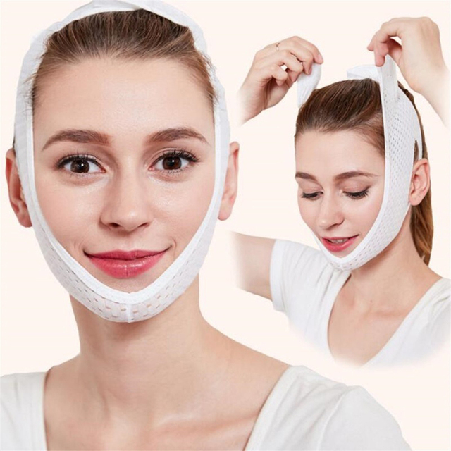 Face Lift Up Mask Bandage Care Chin Cheek Beauty Slimming Belt V-Line Face Lifting Facial Slimming Beauty Anti-Aging Tool 2