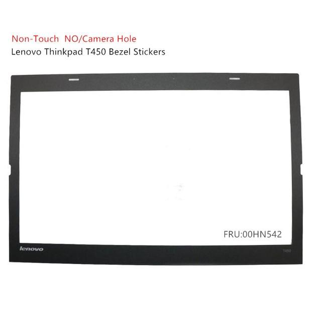 Novo para lenovo thinkpad t450 lcd moldura capa caso adesivo 00hn542 sem toque