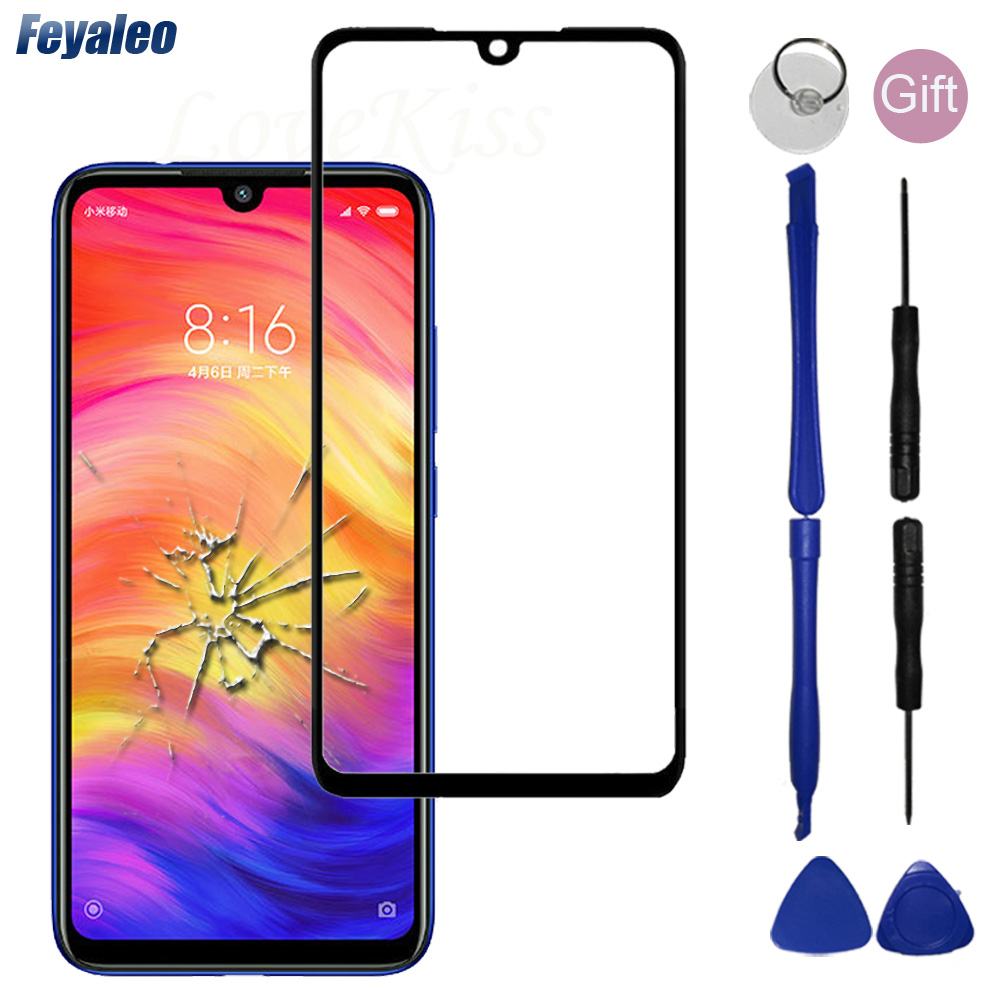 Note 7 6 Pro Front Panel For Xiaomi Redmi Note 8 Pro Note7 Touch Screen Sensor Redmi Note6 Pro LCD Display Digitizer Glass Cover