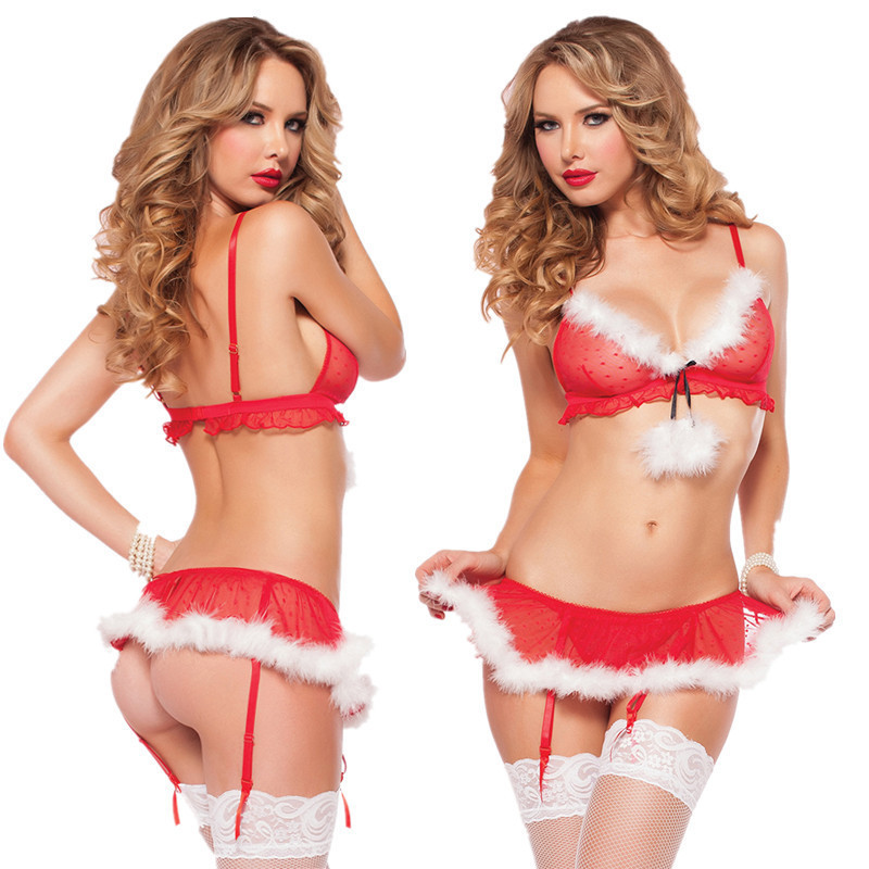 2019 Bunny Costume <font><b>Halloween</b></font> Costumes for Women <font><b>Sexy</b></font> Erotic Underwear Appeal Cosplay Sex Love Role Play Sleepwear <font><b>Lingeries</b></font> Girl image
