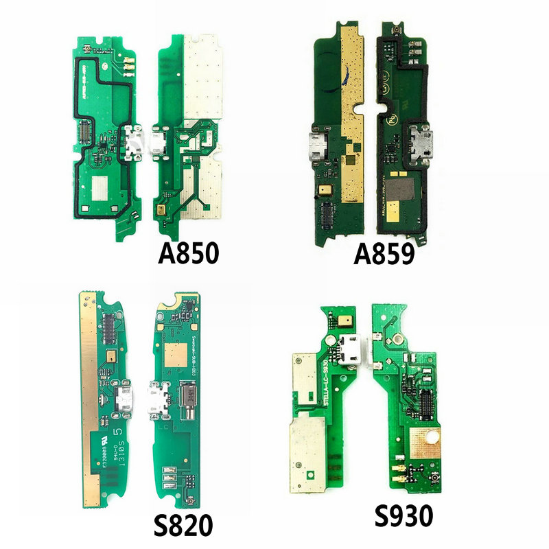 USB Charge Board & Microphone Module For Lenovo A850 A859 S820 S930 Charging Port Dock Repair Parts