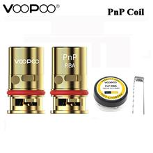 VOOPOO PnP RBA cewka DIY MTL pół-dl odporność i PnP-RBA prebuilt drut 0 6ohm dla VINCI VINCI R VINCI X tanie tanio VOOPOO PnP RBA Coil Voopoo VINCI VINCI R VINCI X DS Dual 1pcs pack 10 pcs pack