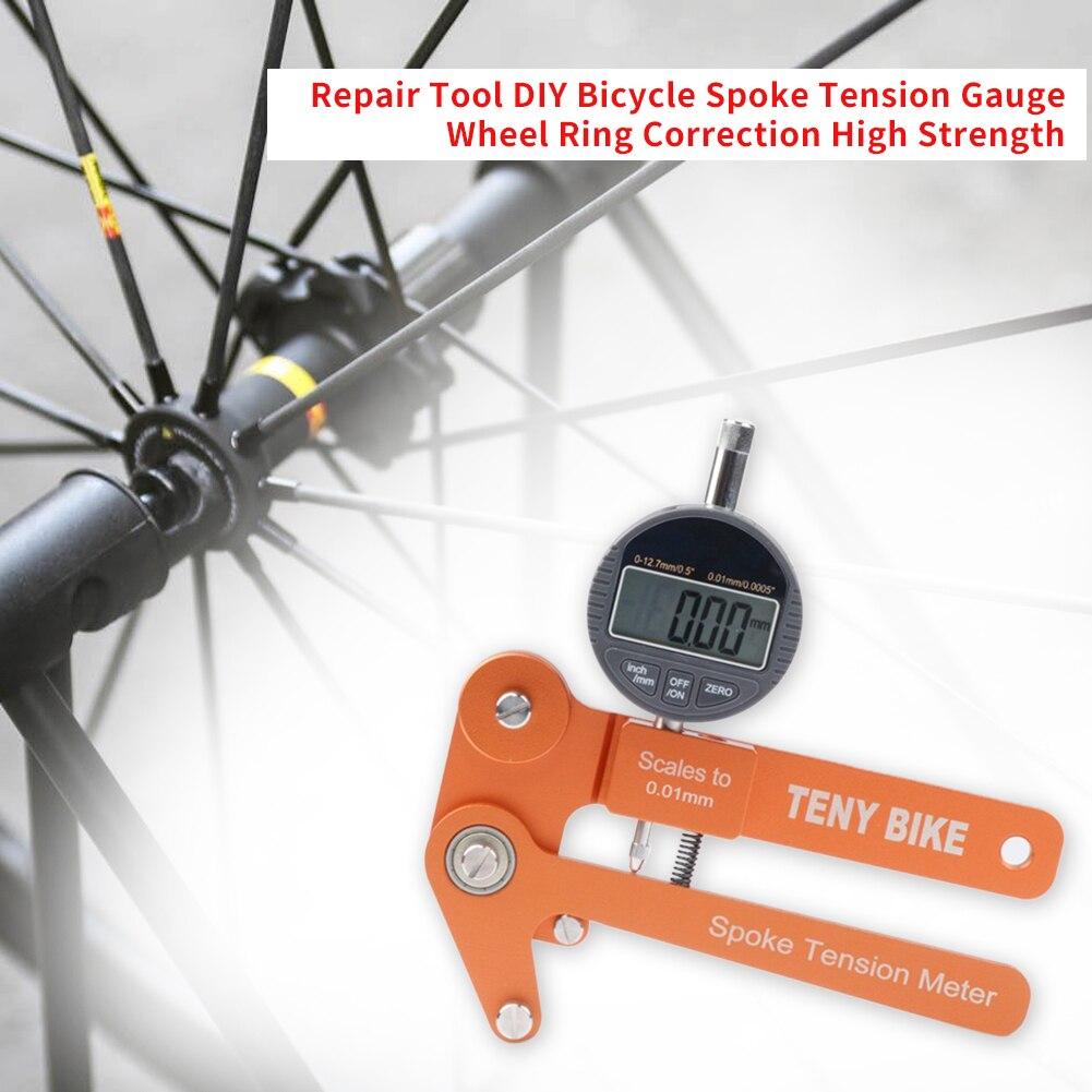 New Spoke Tension Meter Gauge Wheel Spoke Pro Bike Bicycle Repair Tools