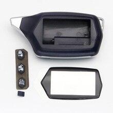 Starline C9 чехол с будильником брелок для России Версия starline C9 C4 C6 lcd двухсторонний автомобильный пульт Twage C9 брелок крышка