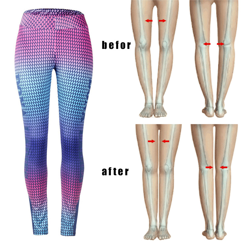 Women Anti-Cellulite Compression Slim Leggings Gym Running Yoga Sport Pants FOU99