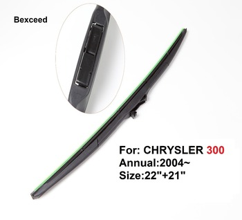 Hybrid Wiper Blade for Chrysler 300 22 21 High Quality Bexceed of Car Windshield Windscreen 2004