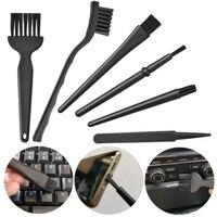 6 in 1 Plastic Small Portable Handle Nylon Anti Static Brushes Cleaning Keyboard Brush Kit Cleaning Brush Set