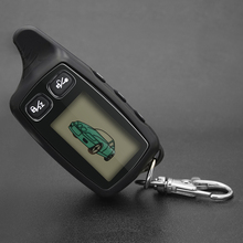 TW9020 Key Fob TW 9030 LCD Remote Control KeyChain For Vehicle Security 2 way