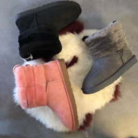 HOT new Australian ladies style snow boots cashmere jacket winter warm outdoor anti skiing boots brand Ivg woman size US3 12